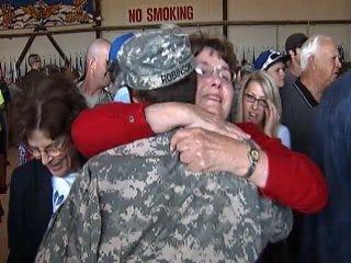WEB EXTRA: Tulsa Black Hawk Crews Return To Heros Welcome In Tulsa