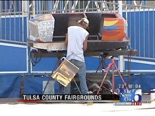 Vendors Busy Preparing For Tulsa State Fair