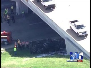 WEB EXTRA: SkyNews 6 Flies Over The Crash At 71st Street and Highway 169