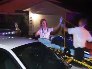 WEB EXTRA: Video From Scene Of North Tulsa Home Invasion Shooting