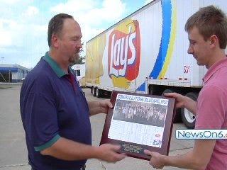 Frito Lay Tulsa Rewards Driver Who Logs One Million Accident Free Miles