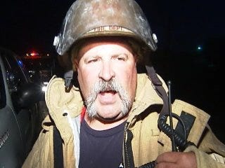 WEB EXTRA: Sperry Fire Chief Talks About Abandoned House Fires