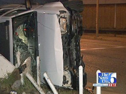 WEB EXTRA: Alcohol Involved In Tulsa Hit-And-Run Wreck