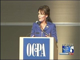 Sarah Palin Rallies Tulsa Conservatives