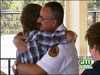 Sapulpa Teen Injured In Car Crash Meets Good Samaritans Who Helped Save His Life