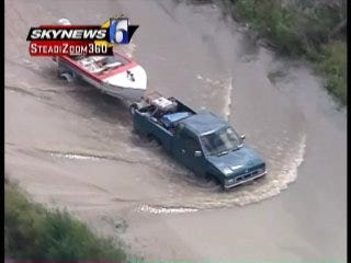 SKYNEWS 6: Flooding In Pittsburg County
