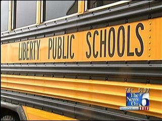 Liberty Schools Goes Green With New School Buses