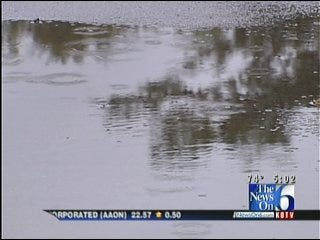 City Of Sand Springs, Residents Prepare For Possible Flooding