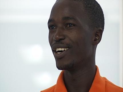 WEB EXTRA: Richard Kirabira Greeted At OKC Airport