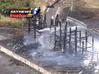 WEB EXTRA: SkyNews 6 Video Of The Fire At Admiral Twin Drive-In