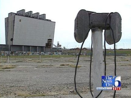 WEB EXTRA: Past Wind Damage Repaired At Admiral Twin Drive-In