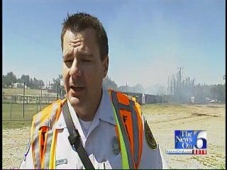 WEB EXTRA: Tulsa Fire Department Captain Michael Baker On Admiral Twin Fire