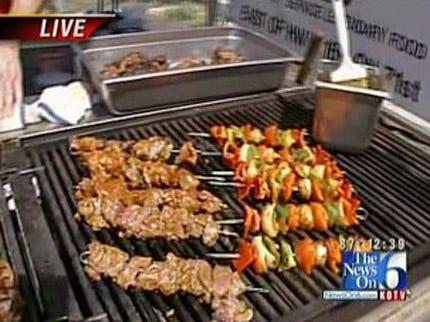 Texas Roadhouse Steak Kabobs