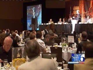 Senator Tom Coburn Visits With Tulsa Business Leaders Monday