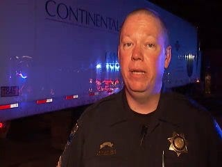 Tulsa Police Talks About Death Of Semi Truck Driver