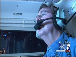 Tulsa Mayor Goes For A Ride In Police Department Helicopter