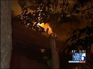 Repeat Fires Reported In Two Vacant Tulsa Homes