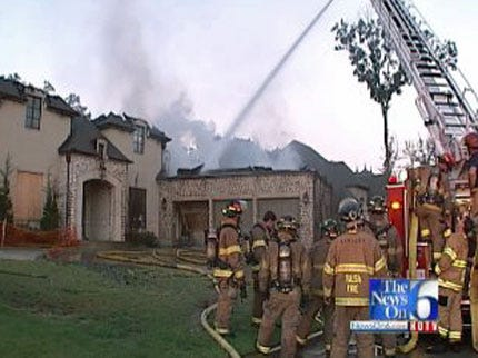 WEB EXTRA: Fire In South Tulsa Vacant House