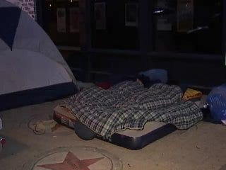WEB EXTRA: Video Of Hanson Fans Camped Out In Front Of Cain's Ballroom