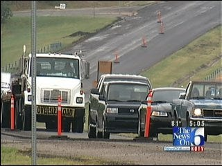 Why Are Repairs Being Made Along Highway 97 Between Sand Springs And Sapulpa?