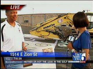 Tulsa's Booker T Washington High School Field House Is Demolished