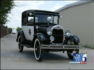 Refurbished 'Model A' Getting Noticed On Tulsa Streets