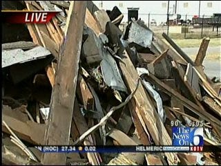 West Tulsa's Knotty Pine Restaurant Torn Down
