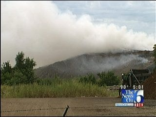 State And EPA Investigating North Tulsa Landfill Fire Complaints