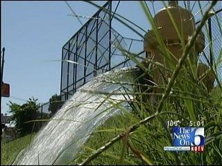 Tulsa Water Line Breaks Keeping City Utility Crews Busy