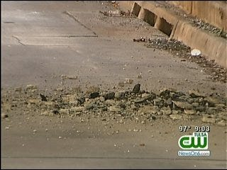 Broken Arrow Expressway Reopened After Hole Forms On Highway