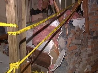Video Of Where The Car Impacted The Apartment Building