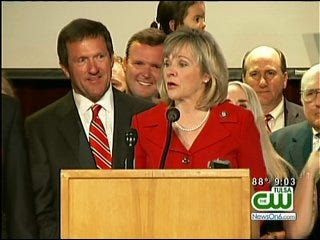 Fallin, Askins Break Through Gender Barrier In Oklahoma Politics