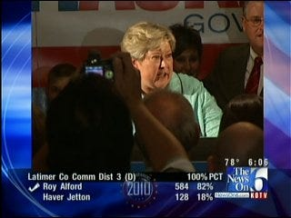 Lt. Governor and Democratic nominee Jari Askins Talks About Her Win