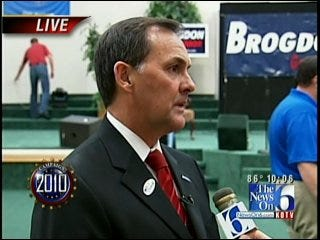 WATCH PARTY: Randy Brogdon Discusses Defeat