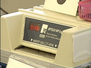 Video Of Voters At The Tulsa County Election Board On Monday