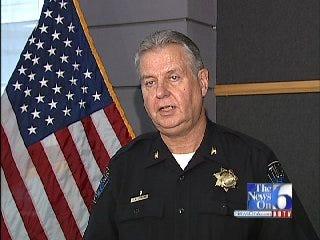 WEB EXTRA: Tulsa Police Interim Chief Chuck Jordan Discusses Indictments
