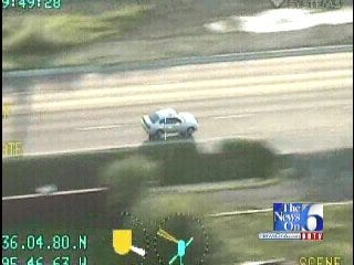 WEB EXTRA: Tulsa Police Helicopter Catches Dramatic Chase