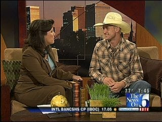 PBR Bullrider Stops By Six in The Morning