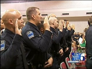 Tulsa Police Department Grows By 50 Officers