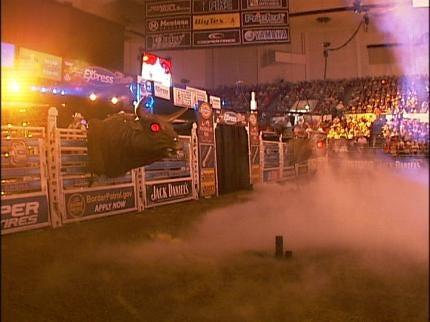 BOK Center Prepares For Professional Bull Riders
