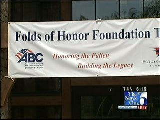 Owasso's Folds Of Honor Holds Grand Opening