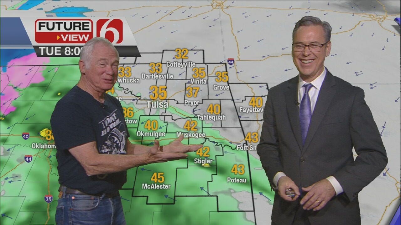 Tuesday Morning Forecast With Special Guest Dick Faurot