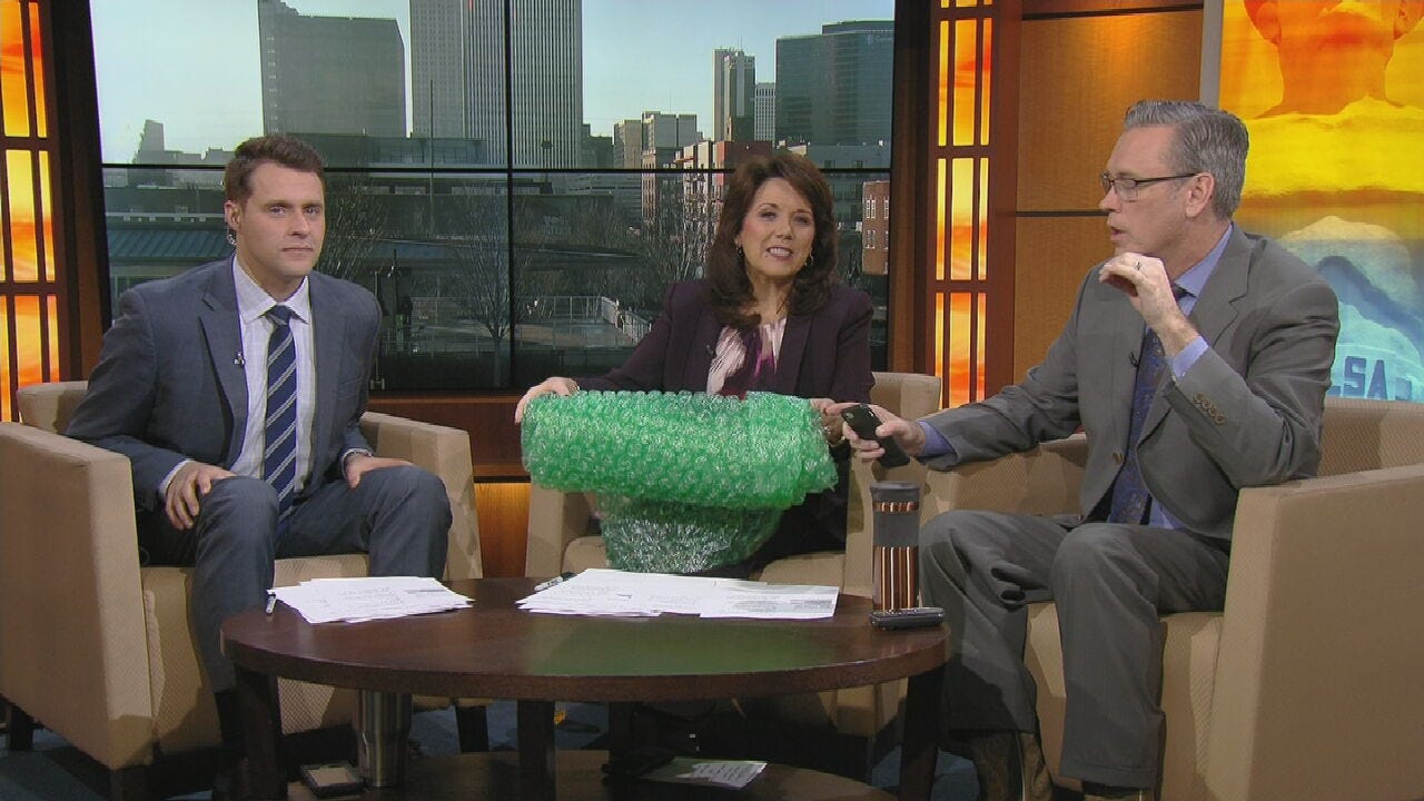 WATCH: 6 In The Morning Celebrates National Bubble Wrap Day