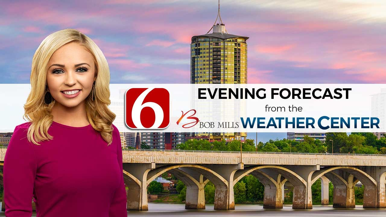 Saturday Evening Forecast With Kendall Smith