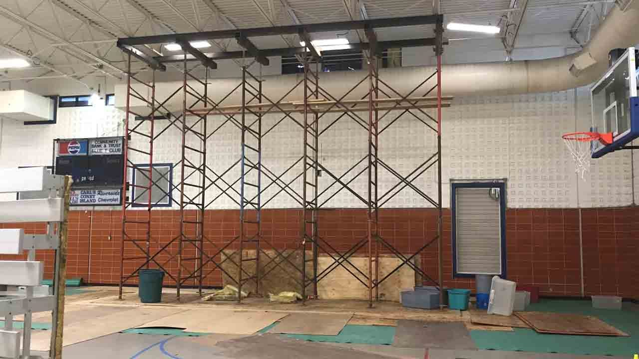 UPDATE: Community Center Repairs On Hold After Storm Damage Last Spring