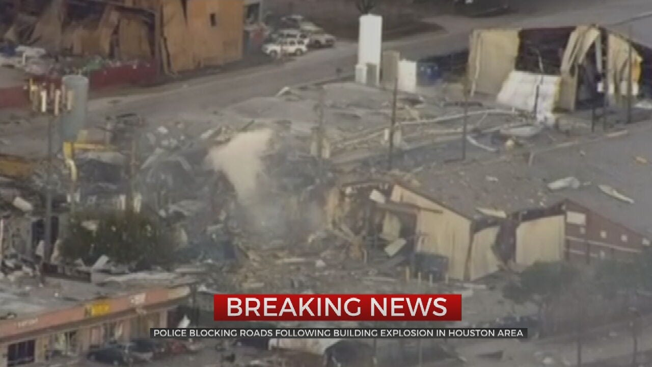 Houston Police: Reported Explosion At Manufacturing Facility