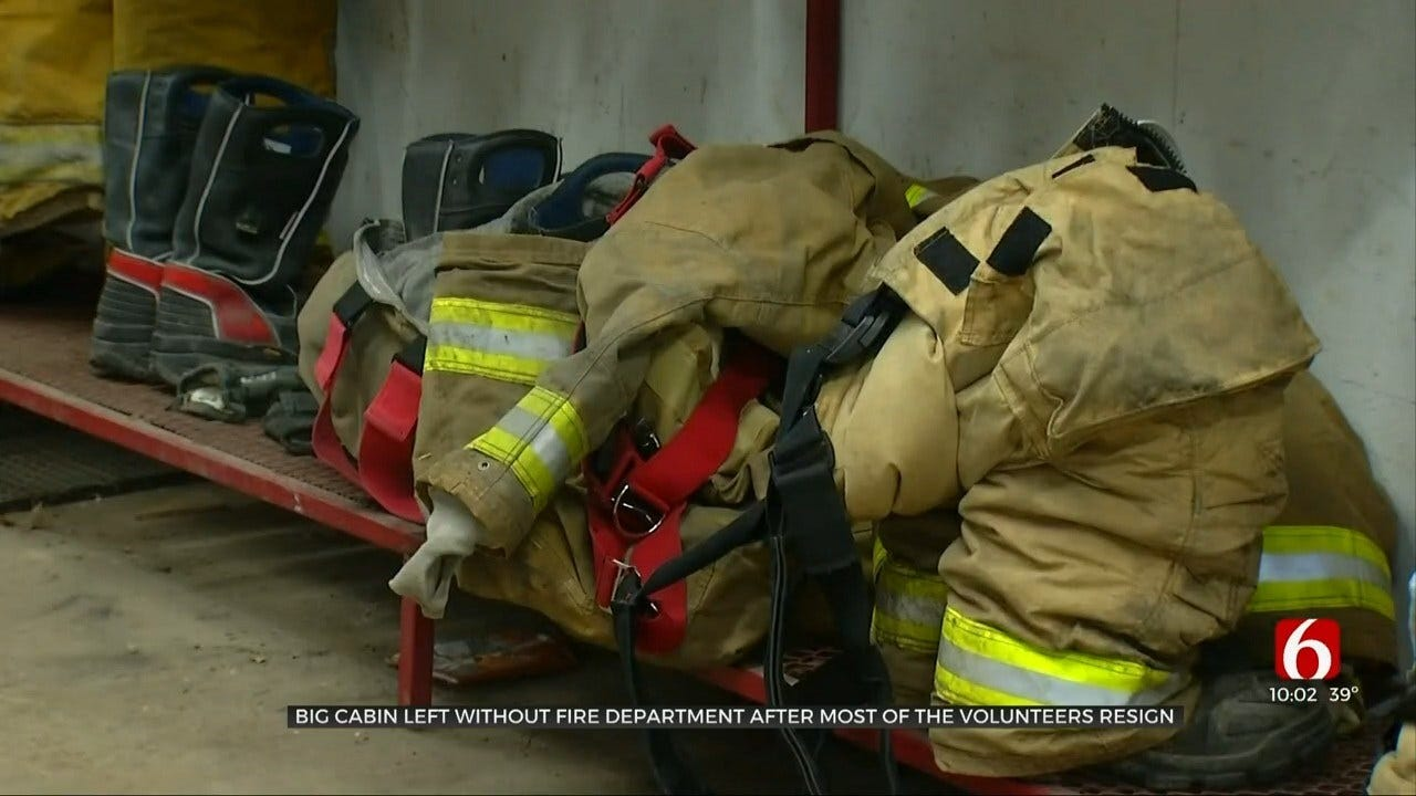 Almost All Big Cabin Firefighters Resign