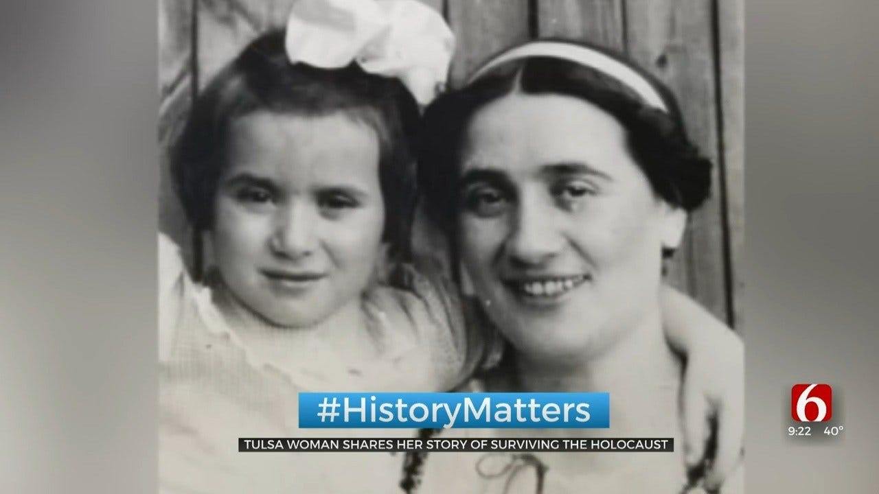 Tulsa Holocaust Survivor Looks Back On The Horror Of World War II