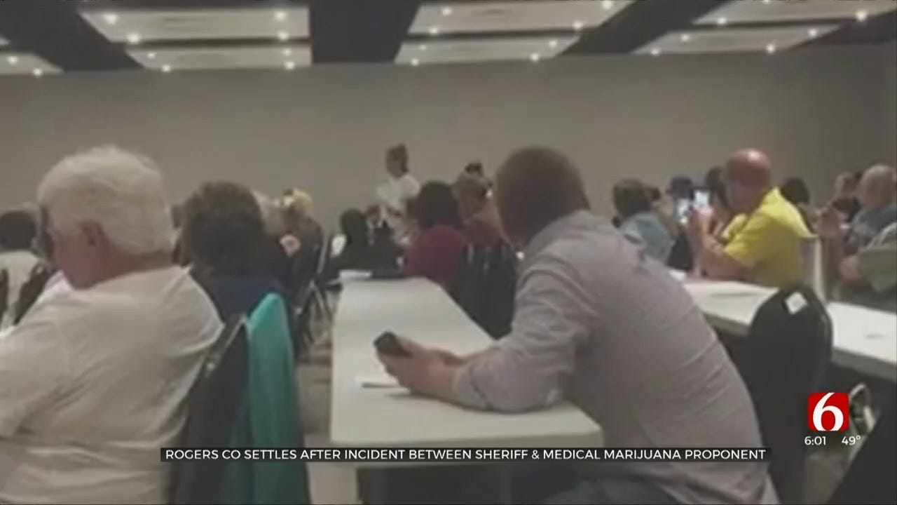 Rogers County, Marijuana Supporter Reach Settlement In Lawsuit