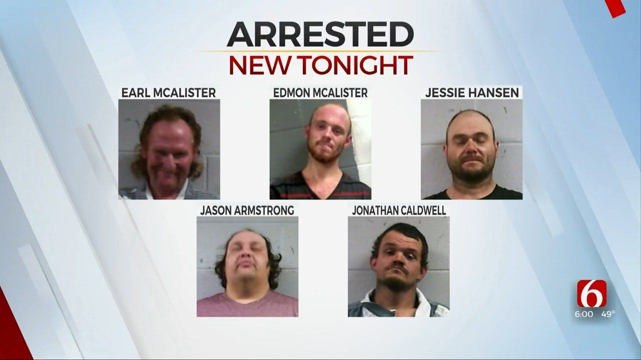 5 Adair County Men Charged With Murder